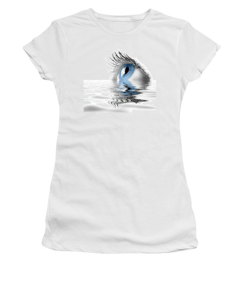 Blue Eye Women's T-Shirt (Athletic Fit)