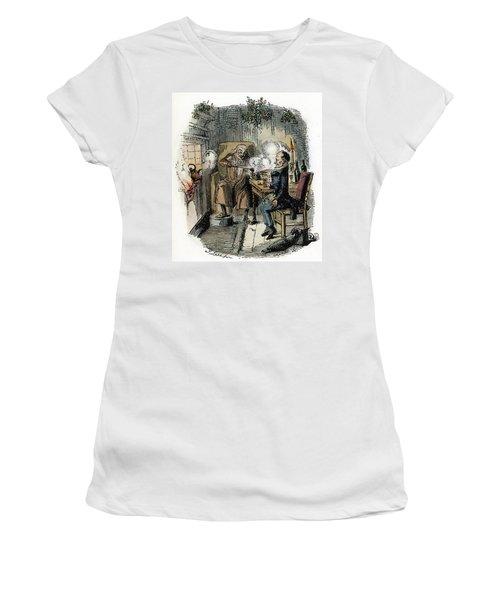 Dickens Christmas Carol, 1843 Women's T-Shirt