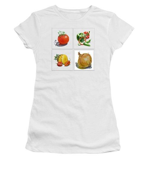 Farmers Market Delight  Women's T-Shirt