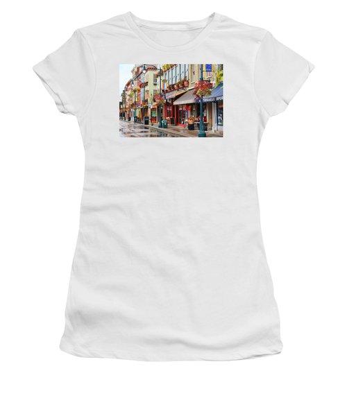 Findlay Market In Cincinnati 0009 Women's T-Shirt (Athletic Fit)