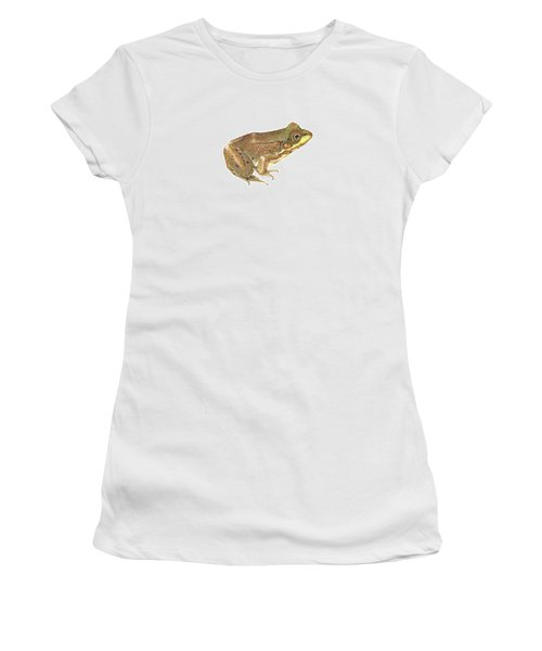 Green Frog Women's T-Shirt (Athletic Fit)