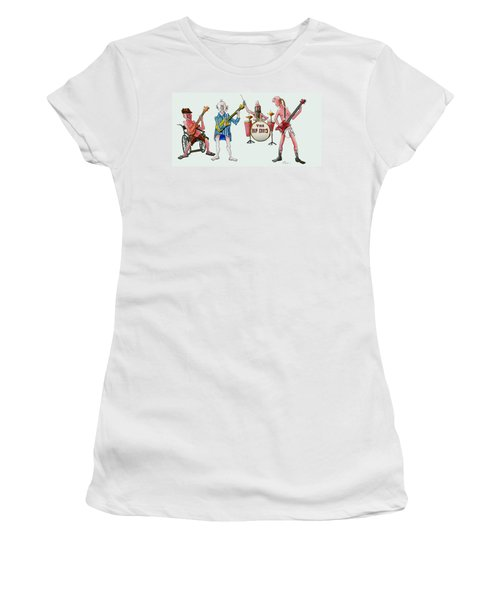 Sixties And Seventies Musicians Women's T-Shirt