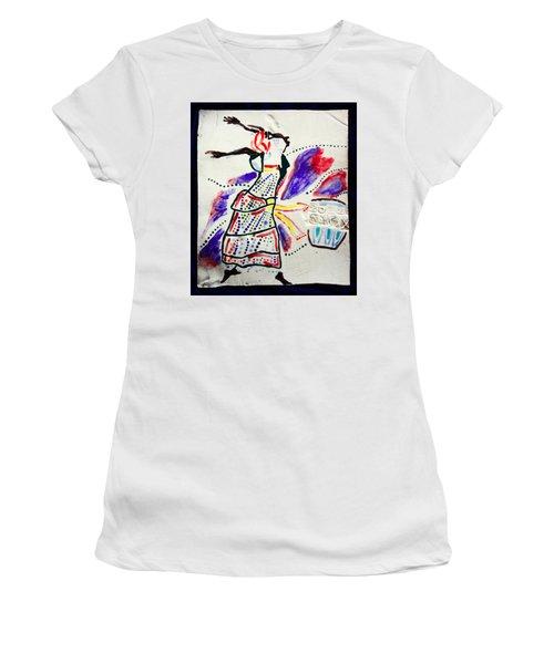 Kiganda Dance - Uganda Women's T-Shirt