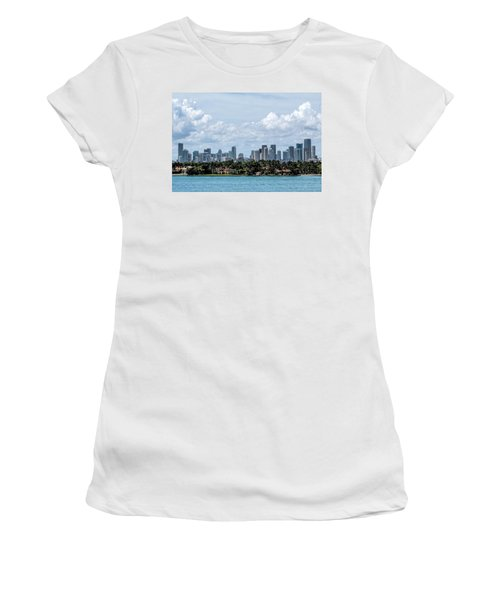 Miami Skyline Women's T-Shirt