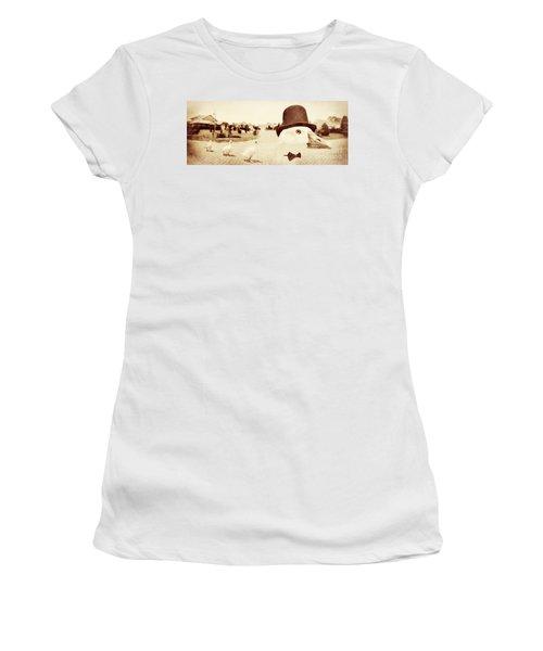 Natures Pecking Order Women's T-Shirt