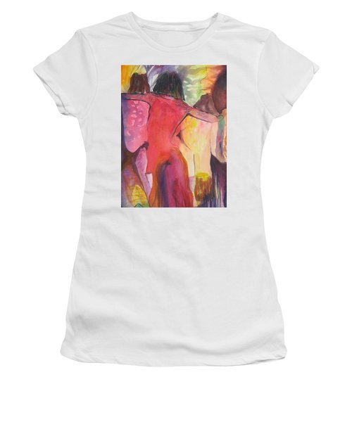 Passage Women's T-Shirt (Junior Cut) by Diana Bursztein