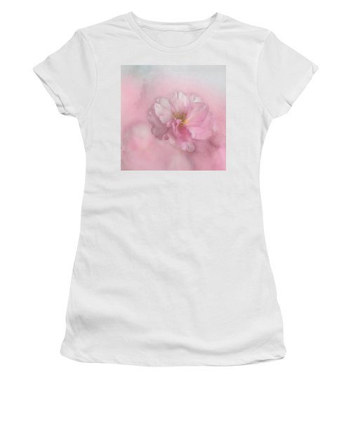 Pink Blossom Women's T-Shirt (Athletic Fit)