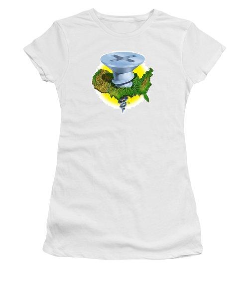 Screwed Women's T-Shirt