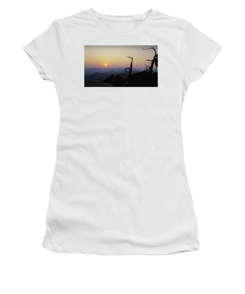Sunset From Mt Scott Women's T-Shirt (Athletic Fit)