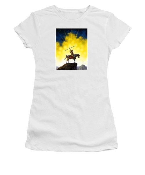 The Signal Women's T-Shirt (Junior Cut) by Scott Ross