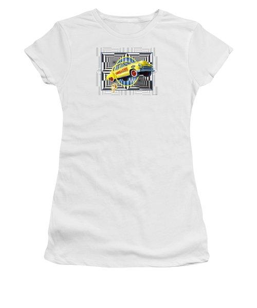 Thrillcade Women's T-Shirt (Junior Cut) by Scott Ross