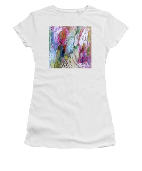 Under The Ice Of Venus Women's T-Shirt