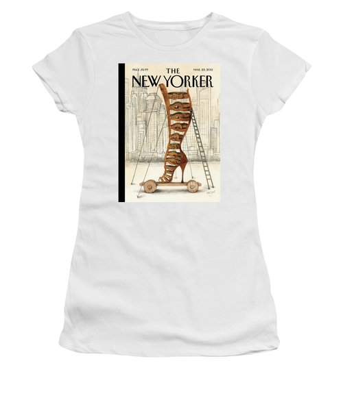New Yorker March 25th, 2013 Women's T-Shirt