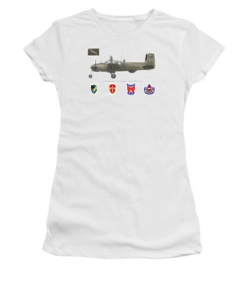 U.s. Army Ru-8d Card Or Mug Art Women's T-Shirt (Athletic Fit)