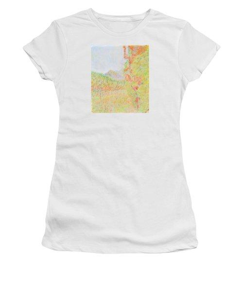 California Vineyard Women's T-Shirt (Athletic Fit)