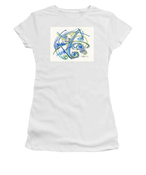 2012 Drawing #33 Women's T-Shirt (Athletic Fit)