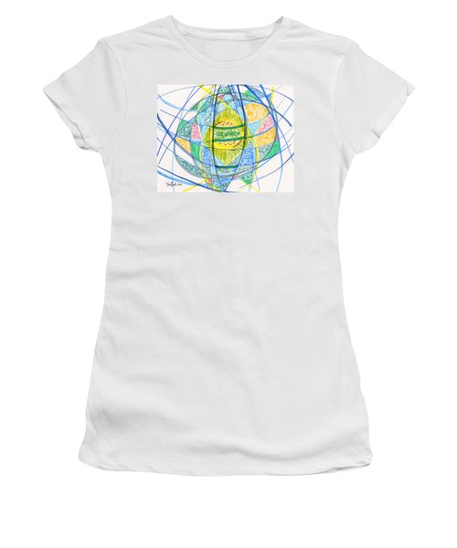 2013 Abstract Drawing #2 Women's T-Shirt (Athletic Fit)