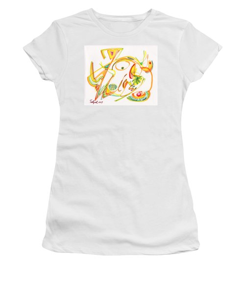 2013 Abstract Drawing #20 Women's T-Shirt (Athletic Fit)