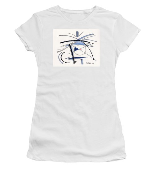 2014 Abstract Drawing #1 Women's T-Shirt (Athletic Fit)