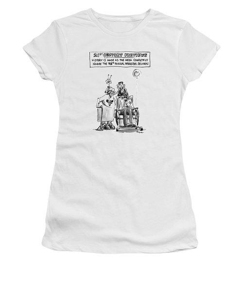 21st Century Previews Women's T-Shirt