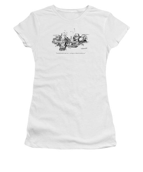 I Actually Prefer Same Sex - As Long Women's T-Shirt