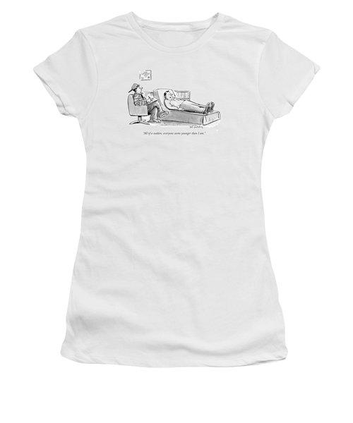 All Of A Sudden Women's T-Shirt