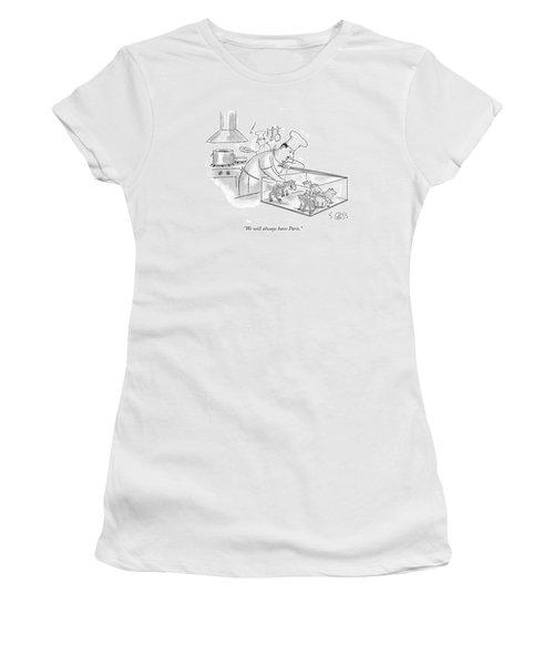 We Will Always Have Paris Women's T-Shirt