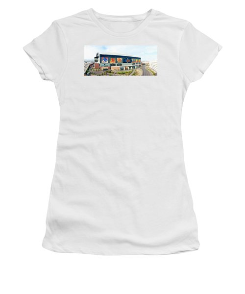 High Angle View Of A Baseball Stadium Women's T-Shirt (Athletic Fit)