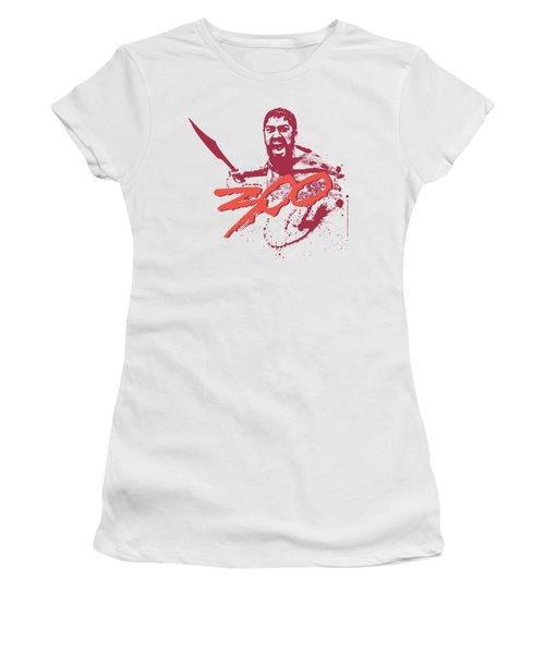 300 - Logo Women's T-Shirt (Athletic Fit)