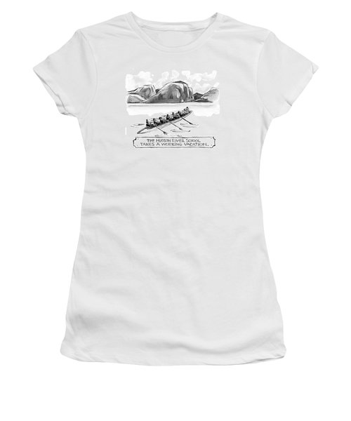 The Hudson River School Takes A Working Vacation Women's T-Shirt