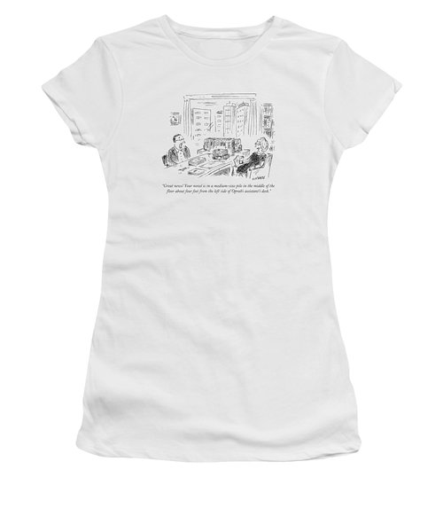 Great News! Your Novel Is In A Medium-size Pile Women's T-Shirt