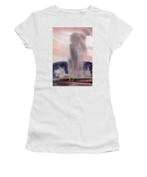 Old Faithful Women's T-Shirt (Athletic Fit)