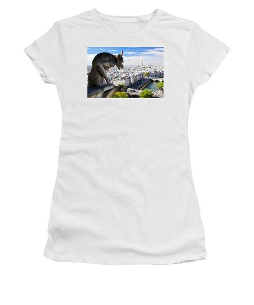 Paris Panorama France Women's T-Shirt