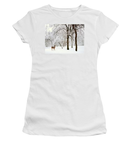Winter's Breath Women's T-Shirt