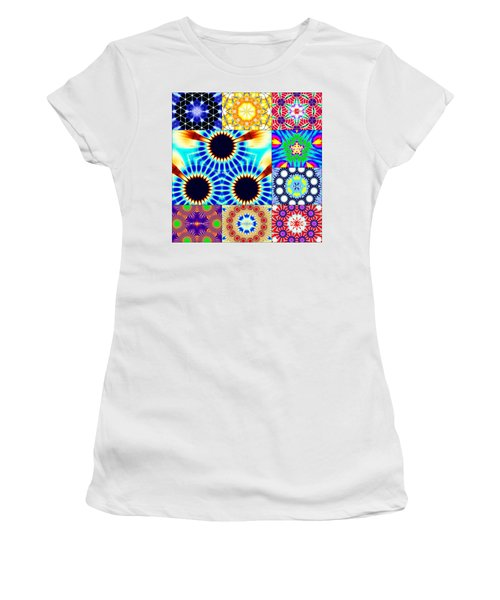 432hz Cymatics Grid Women's T-Shirt