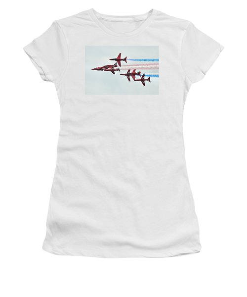 50th Anniversary 'red Arrows' Women's T-Shirt (Athletic Fit)