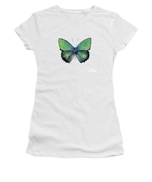 52 Arhopala Aurea Butterfly Women's T-Shirt