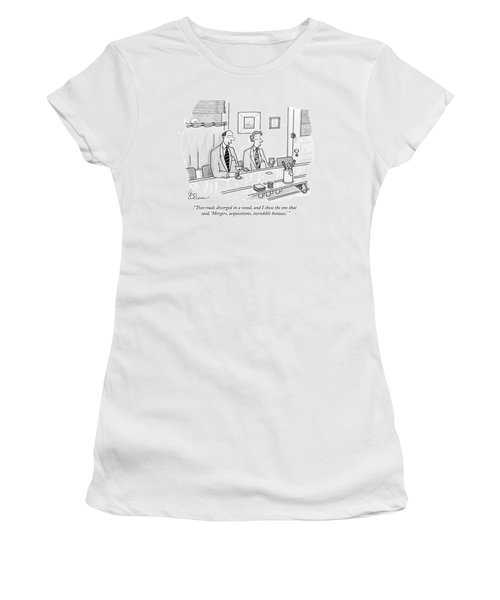 Two Roads Diverged In A Wood Women's T-Shirt