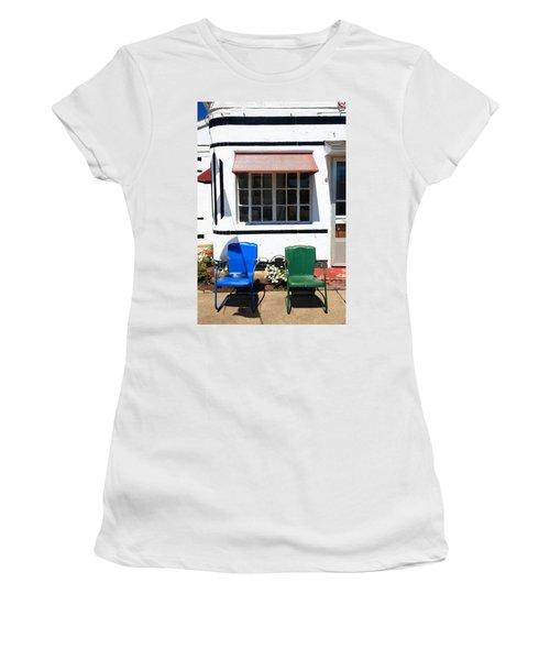 Route 66 - Boots Motel Women's T-Shirt