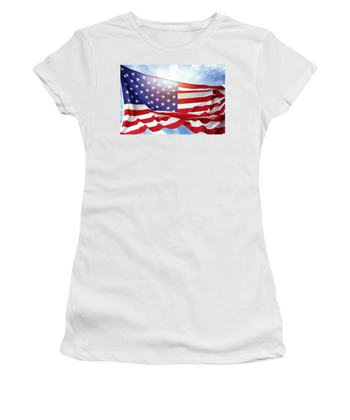 American Flag 55 Women's T-Shirt