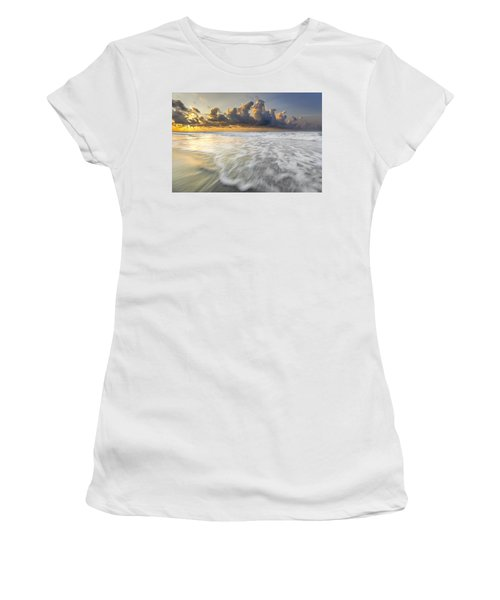 Sunrise On Hilton Head Island Women's T-Shirt (Athletic Fit)