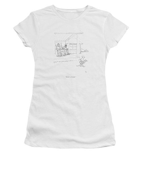 Storm's A-brewin Women's T-Shirt