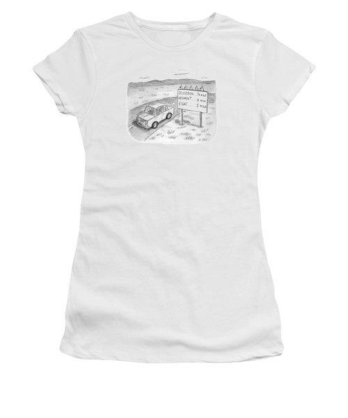 New Yorker August 1st, 2016 Women's T-Shirt