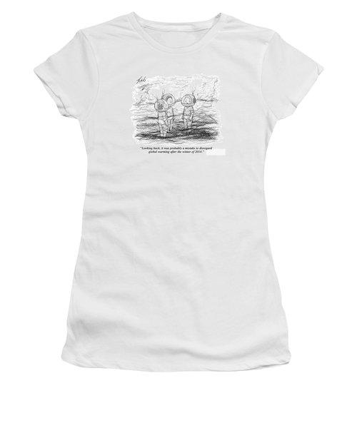 Looking Back Women's T-Shirt