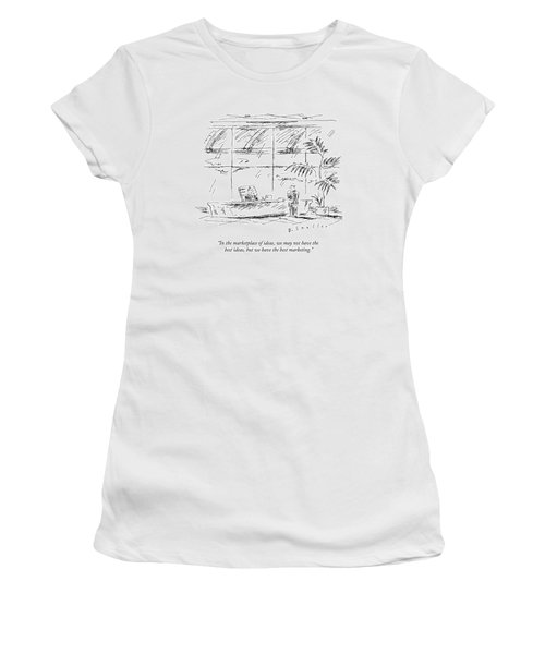 In The Marketplace Of Ideas Women's T-Shirt