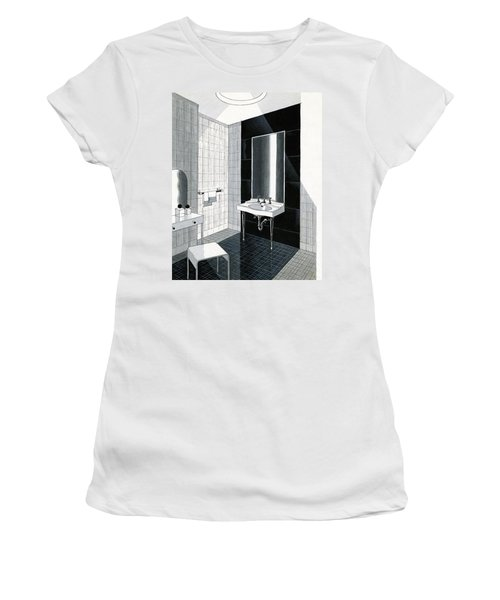 A Bathroom For Kohler By Ely Jaques Kahn Women's T-Shirt