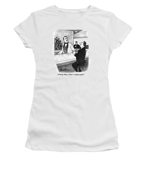 A Bloody Mary Women's T-Shirt (Athletic Fit)
