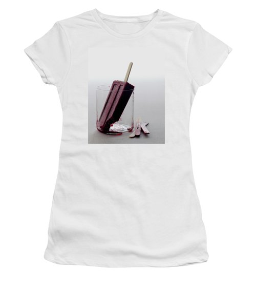 A Blueberry Lime Popsicle Women's T-Shirt
