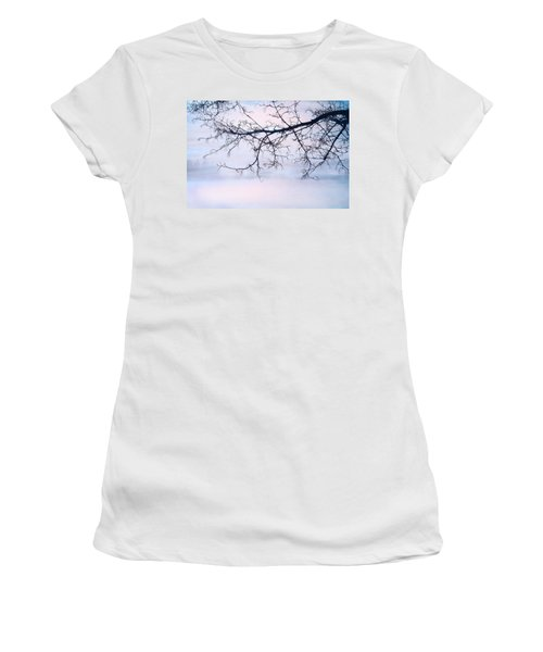 A Breathing Too Quiet To Hear Women's T-Shirt (Junior Cut) by Theresa Tahara