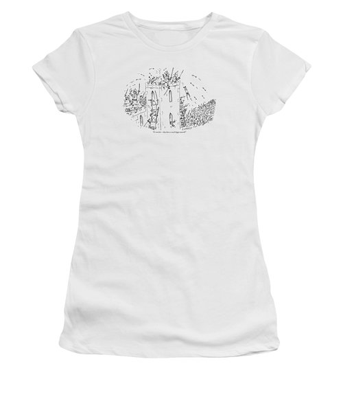 A Castle Is Overwhelmed And Outnumbered Women's T-Shirt